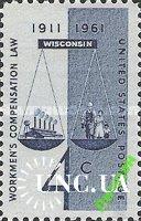 США 1961 профсоюзы труд штат Висконсин ** м