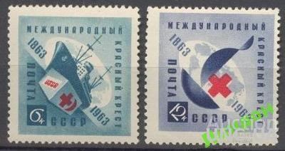 СССР 1963 Красный Крест медицина флот корабли **