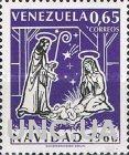 Венесуэла 1966 Рождество религия живопись ** м