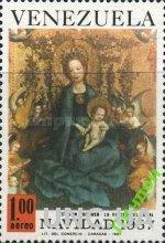 Венесуэла 1967 Рождество религия живопись ** о