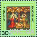Венесуэла 1977 Рождество религия живопись ** м
