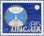 Югославия 1967 18й конгресс астронавтики космос астрономия ** о