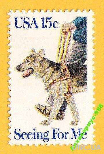 1979 США СОБАКИ Животные Зрение Полн.серия MNH**
