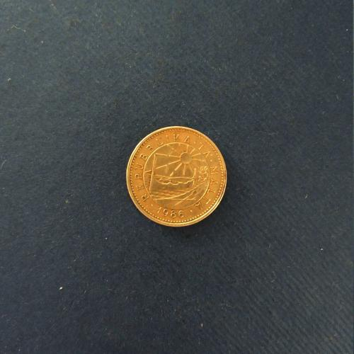 Мальта 1 цент 1986 год