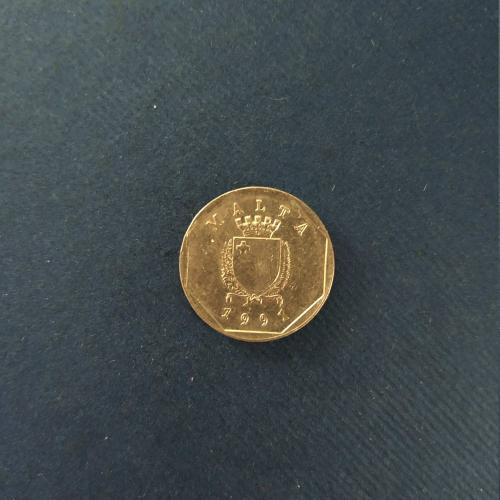 Мальта 5 центов 1991 год