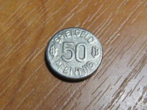 50 пфеннигов   жетон