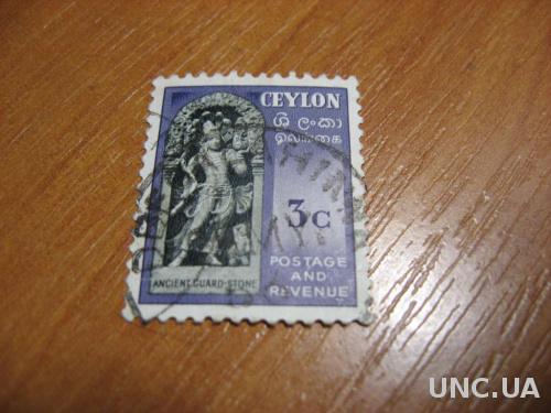 Марка Цейлон  МNН 3 цента