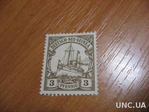 Марка Германия Новая  Гвинея