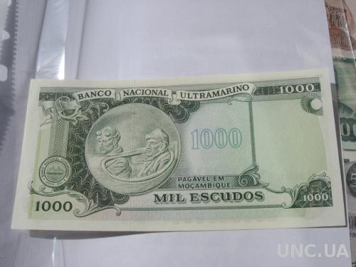Мозамбик 1000 эскудо 1972
