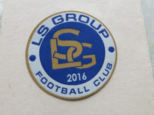 Шеврон нашивка на рукав LS GROUP FOOTBAL CLUB 2016