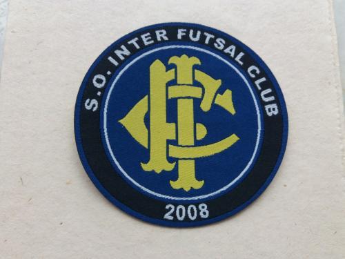 Шеврон нашивка на рукав S.O.INTER.FUTSAL CLUB 2008