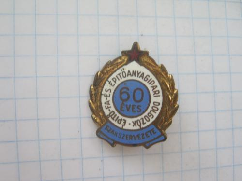 60 лет венгерскому профсоюзу строительной и деревообрабатывающей промышленности