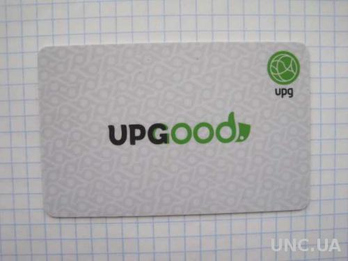 UPGood бонусная (дисконт) карта сети АЗС