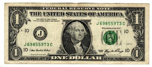 1 доллар США 2006, Миссури Канзас-Сити, FW