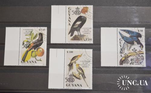 Фауна. Гайяна. 1991 год