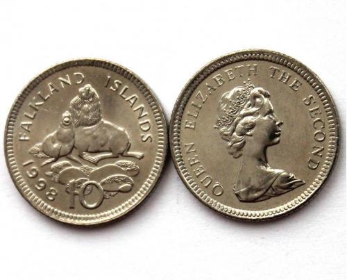 Фолклендских островов 5 пенсов 1998 г.