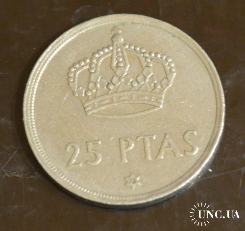 Испания 25 песет 1975 г.(БГ)
