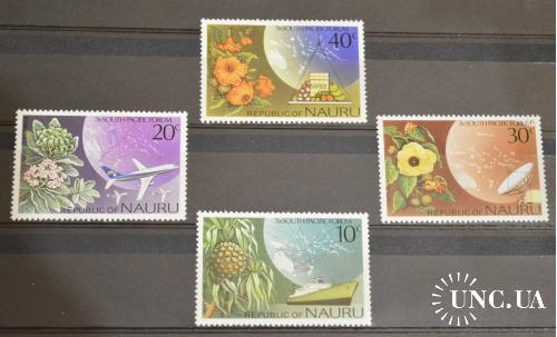 Науру. Флора.  1976 год