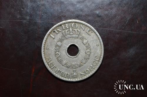 Норвегия  1 крона  1940 год