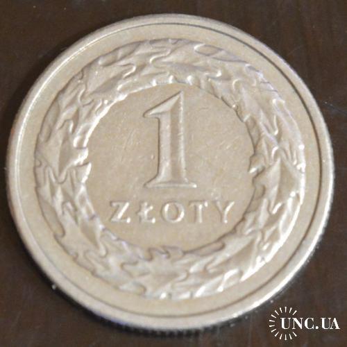 Польша 1 злотый 1995 год (БА)