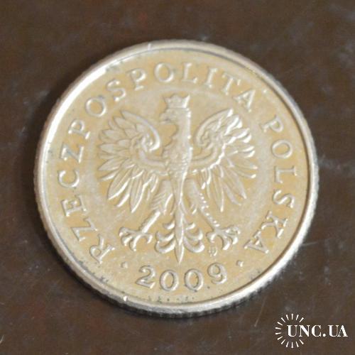 Польша. 50 грош 2009 г(ББ)