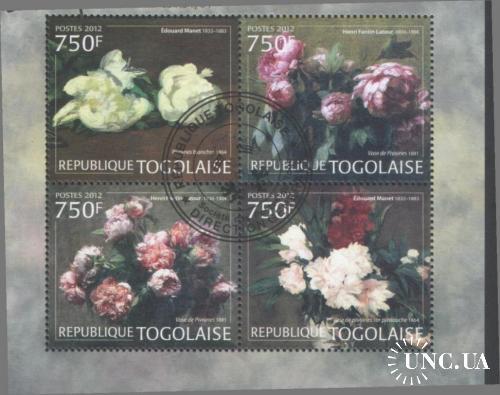 ТОГО (TOGOLAISE) 2012 Цветы