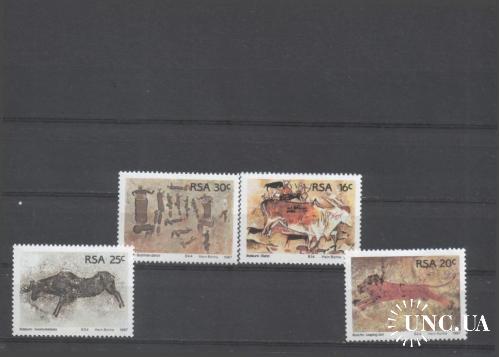 ЮАР RSA Искуство 1987г. MNH Серия