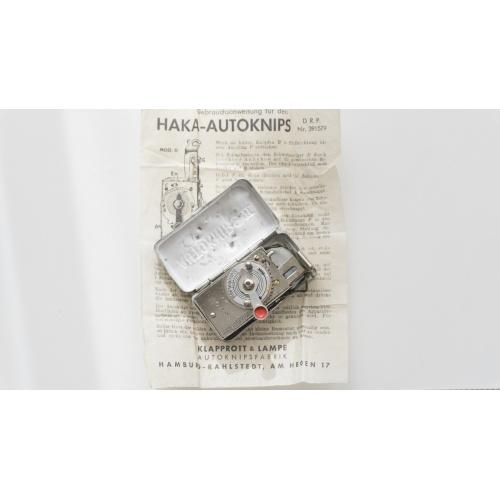 Винтажный автоспуск для пленочных камер VINTAGE HAKA AUTOKNIPS MODEL II
