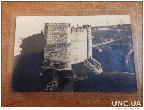 Открытка Украины  Хотин Вид на крепость Стена крупным планом