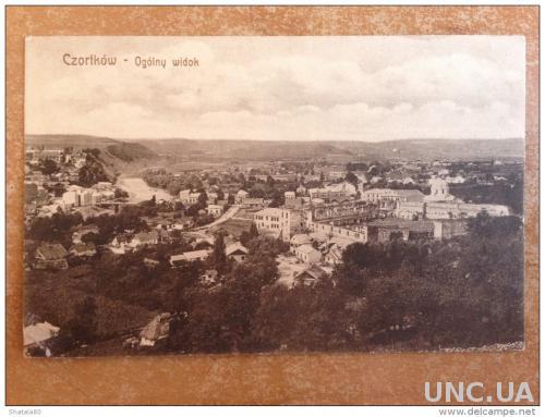 Старинная открытка Чертков Общий вид