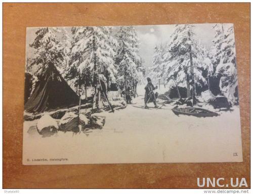 Старые открытки финляндии
