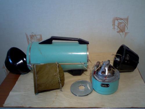пылесос Ракета 7  1970 г.