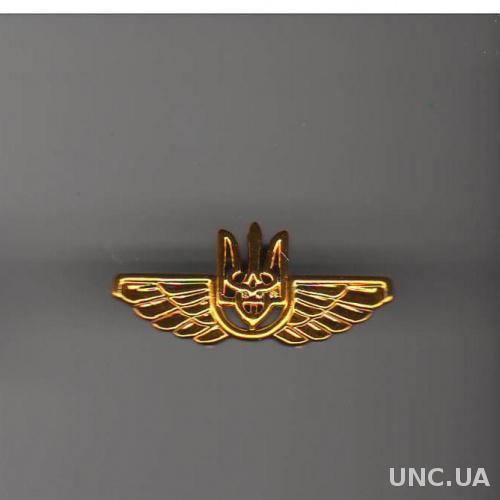 Эмблема Гражданская авиация (пластик)