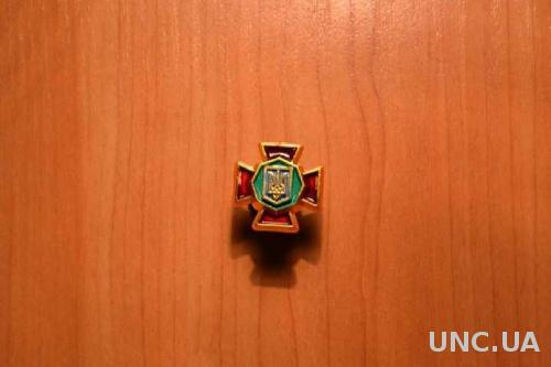 Эмблема Национальная гвардия Украина (пластик)