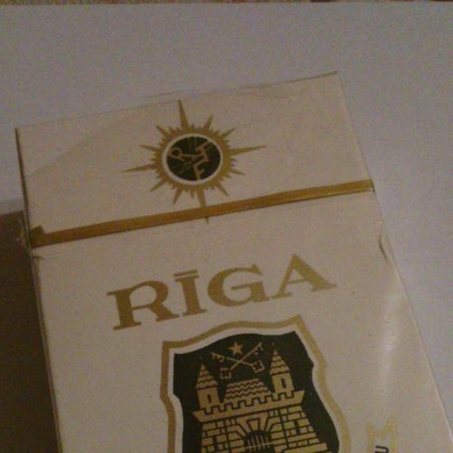 Сигареты ссср Рига