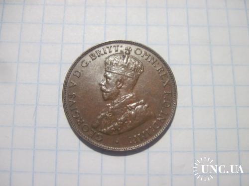 Австралия 1932 1/2 пол пенни AU