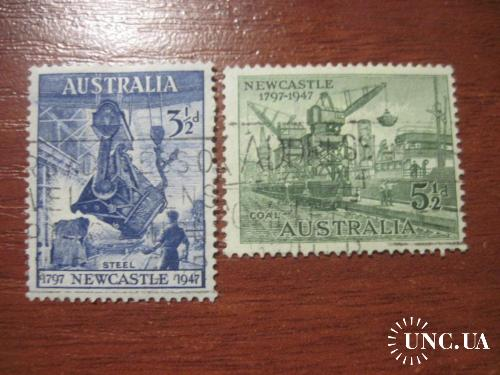 Австралия  1947 промышленность добыча угля и стали  ГАШ