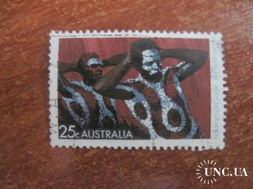 Австралия искусство аборигенов  ГАШ