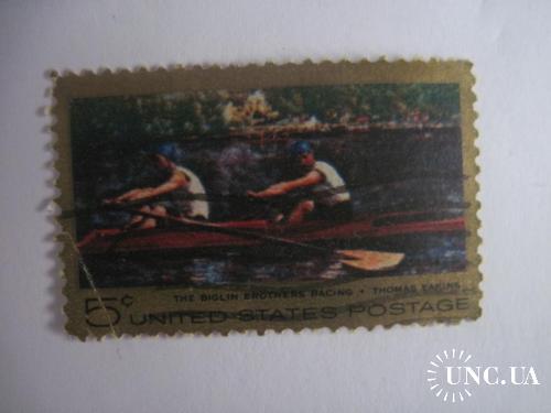 CША 1967 гребля спорт ГАШ