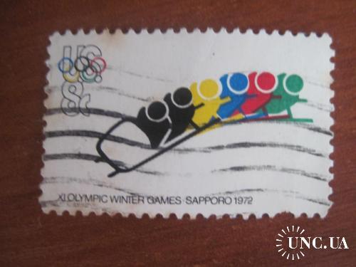CША 1972 зимняя олимпиада в Саппоро бобслей ГАШ