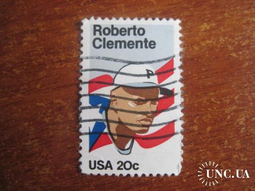CША 1984 легенды бейсбола Роберто Клементе ГАШ