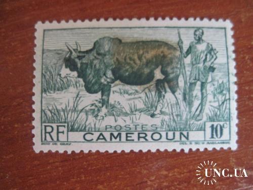 Камерун Французский 1946 Буйвол фауна MH