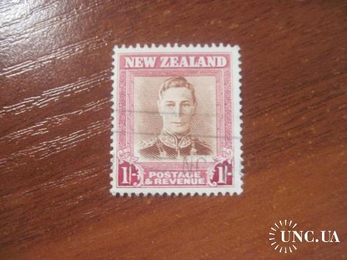 Новая Зеландия 1947 Георг VI UFI