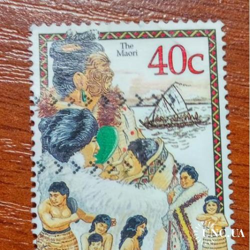Новая зеландия Аборигены Маори флот корабли море ГАШ