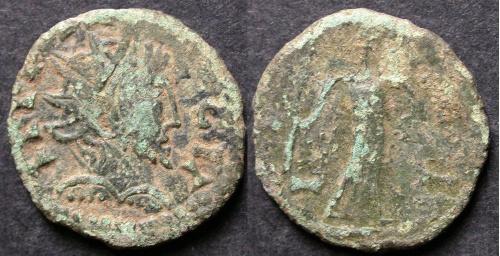 Тетрікус II Цезар 273-274 Син останнього...