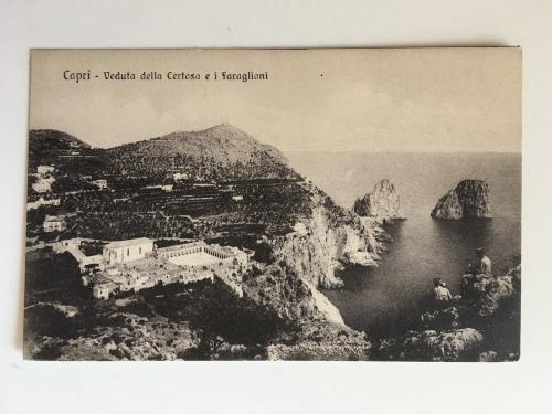 Oткрытка. Capri