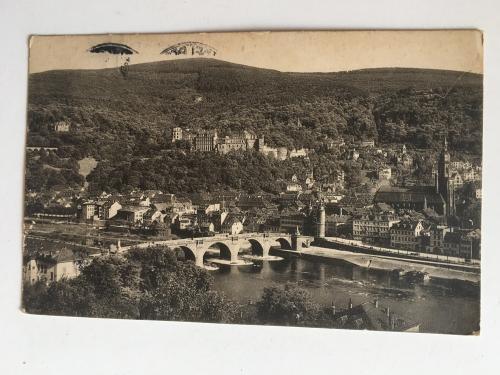 Oткрытка. Heidelberg