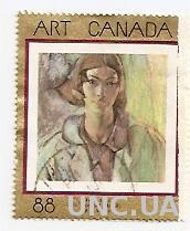 Марка Канада ART Canada гаш 583