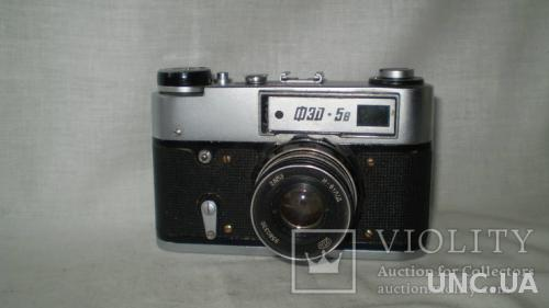 (3) Фотоаппарат ФЭД-5в