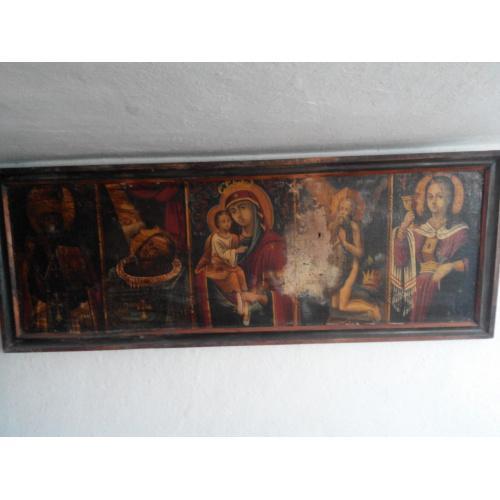 Старинная икона 17-18 век